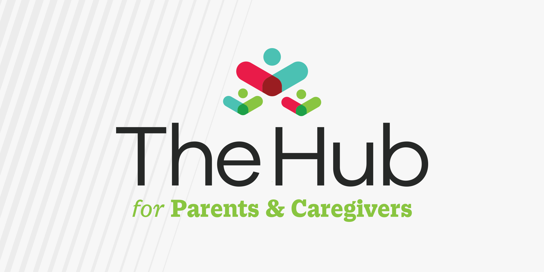 The Hub for Parents and Caregivers logo