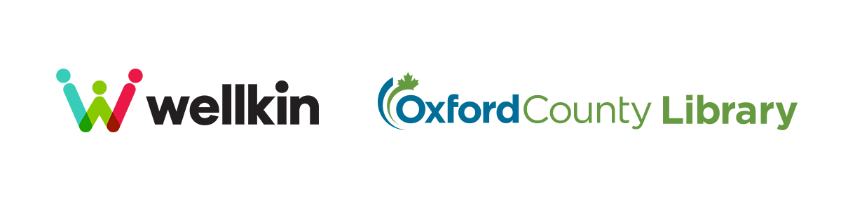 Wellkin and Oxford County Library logos