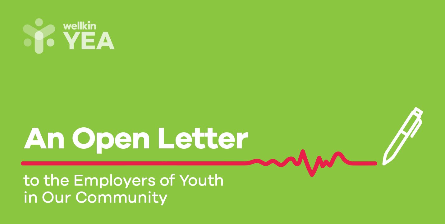 An Open Letter to the Employers of Youth in Our Community